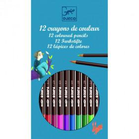Design by - 12 crayons aquarellables