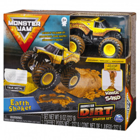 Monster Jam Kinetic Dirt Starter Set : Earth Shaker