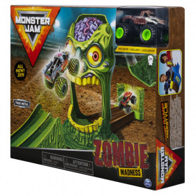 Monster Jam 1:64 Basic  Stunt Playsets  (Zombie Zone)