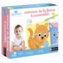 Puzzles pour enfants - Petit Nathan - 4 animaux de la ferme à assembler - Livraison rapide Tunisie