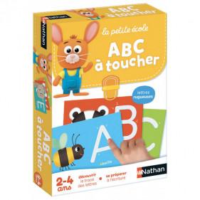 La petite école 2 à 4 ans - ABC à toucher