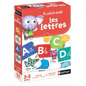 La petite école 3 à 5 ans - Les lettres