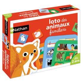 Loto des animaux familliers