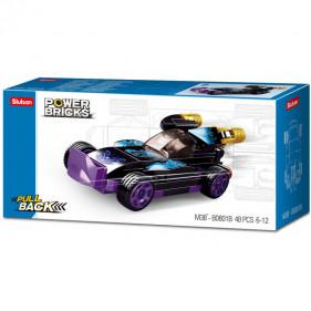 Cars Pull Back : Purple Raptor