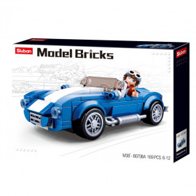 Model Bricks Cars - Classic Sportscar