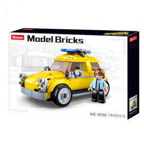 Model Bricks Cars - Classic German Car