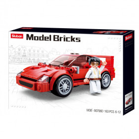 Model Bricks Cars - Italian Sportscar