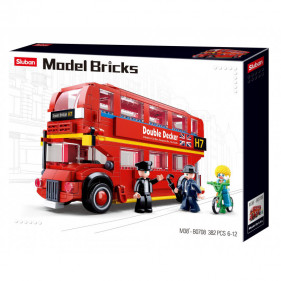 Model Bricks Bus - London Double Decker Bus