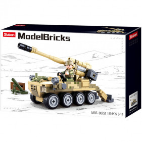 Model Bricks Army - 8X8 All Terrain Assault Vehicle