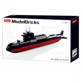 Model Bricks Sea - Strategic Submarine 1:450