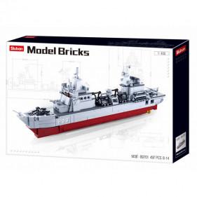Model Bricks Sea - Supply Ship 1:450