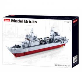 Model Bricks Sea - Supply Ship 1:450