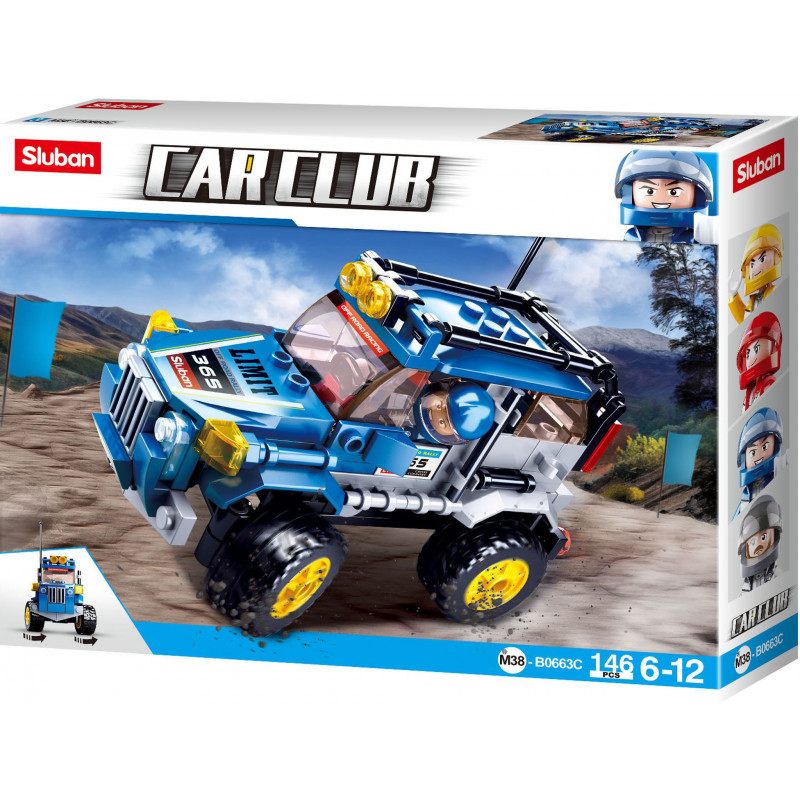 Cars : Offroad - Blue