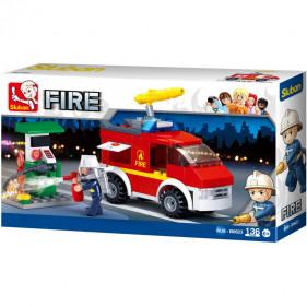 Pompier : Small Fire Truck + Oil Station