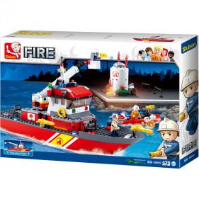 Pompier : Fireboat + Oil Tank