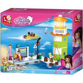 Girls : Lighthouse & Pier