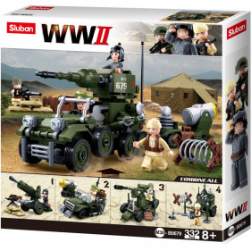 Sluban WWII - 4IN1 Army Gift Box