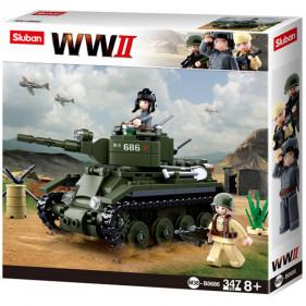 Sluban WWII - Allied Light Cavalry Tank