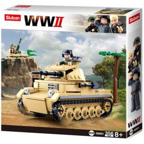 Sluban WWII - Small German Tank
