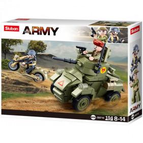 Sluban Army - Small English Armored Vehicle