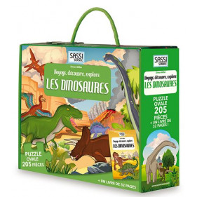 Puzzle coffret - Les Dinosaures