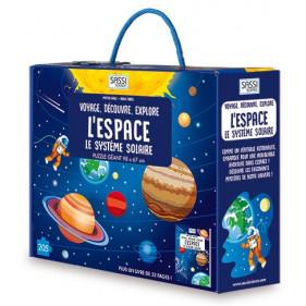 Puzzle coffret - L'Espace - Le Système Solaire