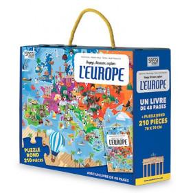 Puzzle coffret - L'EUROPE