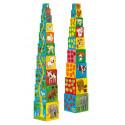 Jeux d'Eveil pour enfants - Cubes - 10 Cubes à empiler mes amis - Livraison rapide Tunisie