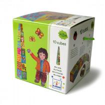 Cubes - 10 Cubes à empiler mes amis