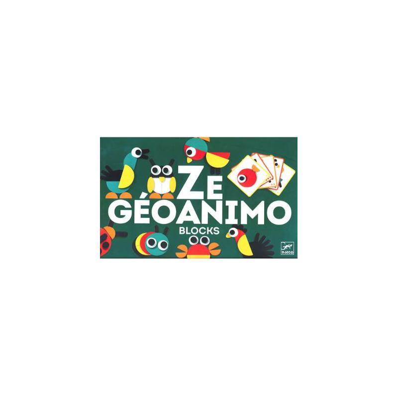 Jeu en bois - Ze Geoanimo