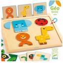 Jeux éducatifs pour enfants - Jeu en bois - GeoBasic - Livraison rapide Tunisie
