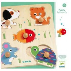 Puzzle en bois - Bulle & Co