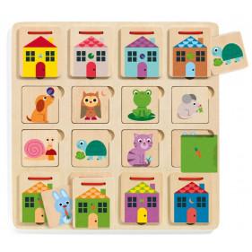Puzzle en bois - Cabanimo