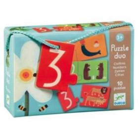 Puzzle Carton Duo - Chiffres