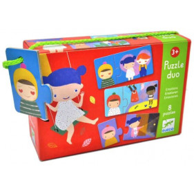 Puzzle Carton Duo - Emotions