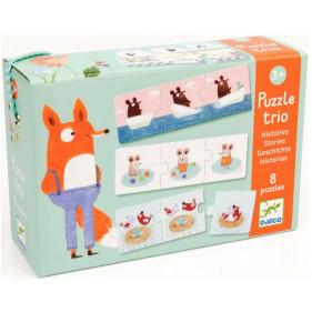 Puzzle Carton Trio - Histoires