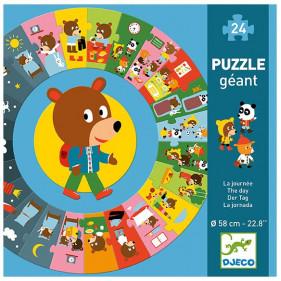 Puzzle Carton Géant - La journée
