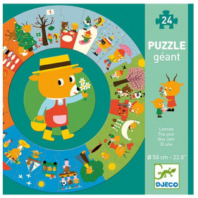 Puzzle Carton Géant - L'année