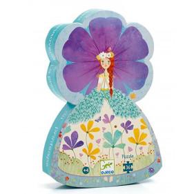 Puzzle Silhouette - La princesse du printemps