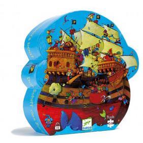 Puzzle Silhouette - Bateau de Barberousse