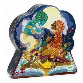 Puzzle Silhouette - Aladdin