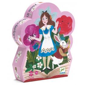 Puzzle Silhouette - Alice aux pays des merveilles