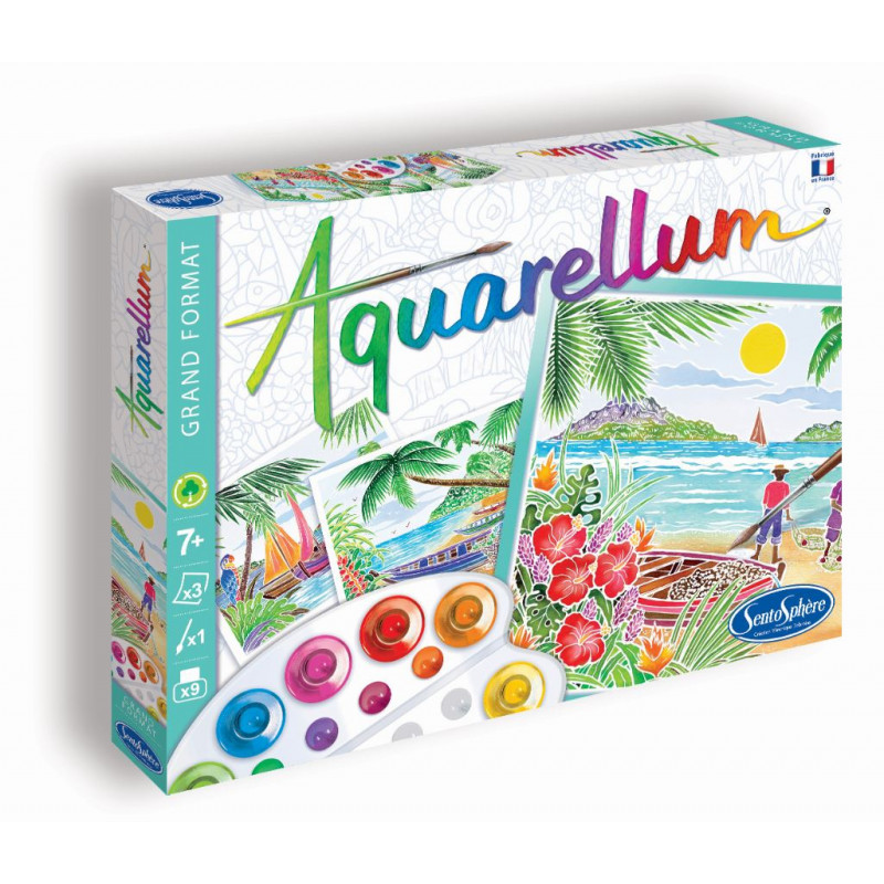 """AQUARELLUM """"Paysages Tropicaux"""""""