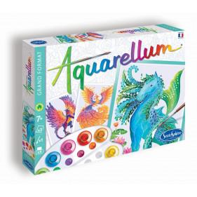 """AQUARELLUM """"Animaux Mythiques"""""""