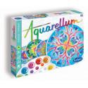 """Loisirs créatifs pour enfants - AQUARELLUM """"MANDALAS ANIMAUX"""" - Livraison rapide Tunisie"""