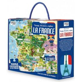 Puzzle coffret - La France