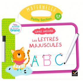 Ardoise - Livre Ardoise - Lettres majuscules PS
