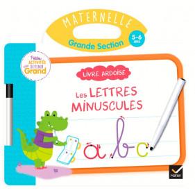Ardoise - Livre Ardoise - Lettres minuscules GS