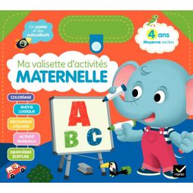 Activité - Ma valisette d'activités maternelle - 4 ans MS