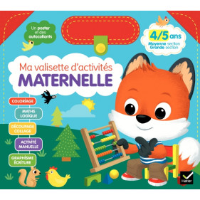 Activité - Ma valisette d'activités maternelle - 4/5 ans MS à GS